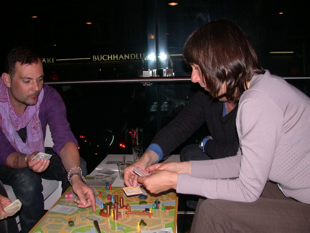 Spielrunde im Grindelviertel