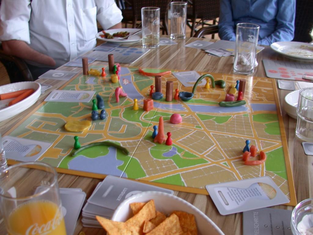 Stadt beforschen und gestalten: Ergebnisse der Spielrunde mit der GSS
