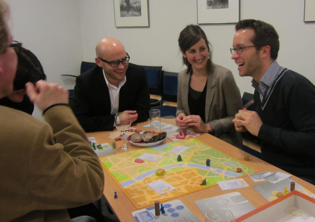 Im Mittelpunkt - das gegenseitige Kennenlernen (Foto: Boris Juhl)
